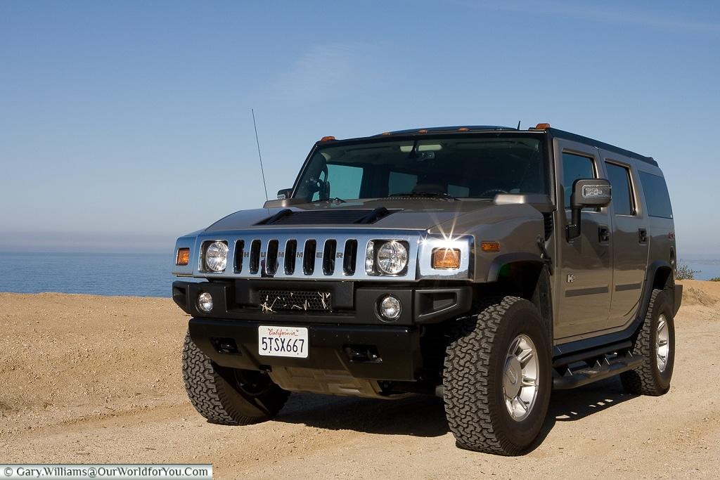The Hummer H2 - West Coast USA