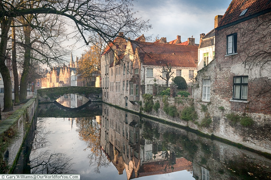 The Peaceful Bruges, Belgium