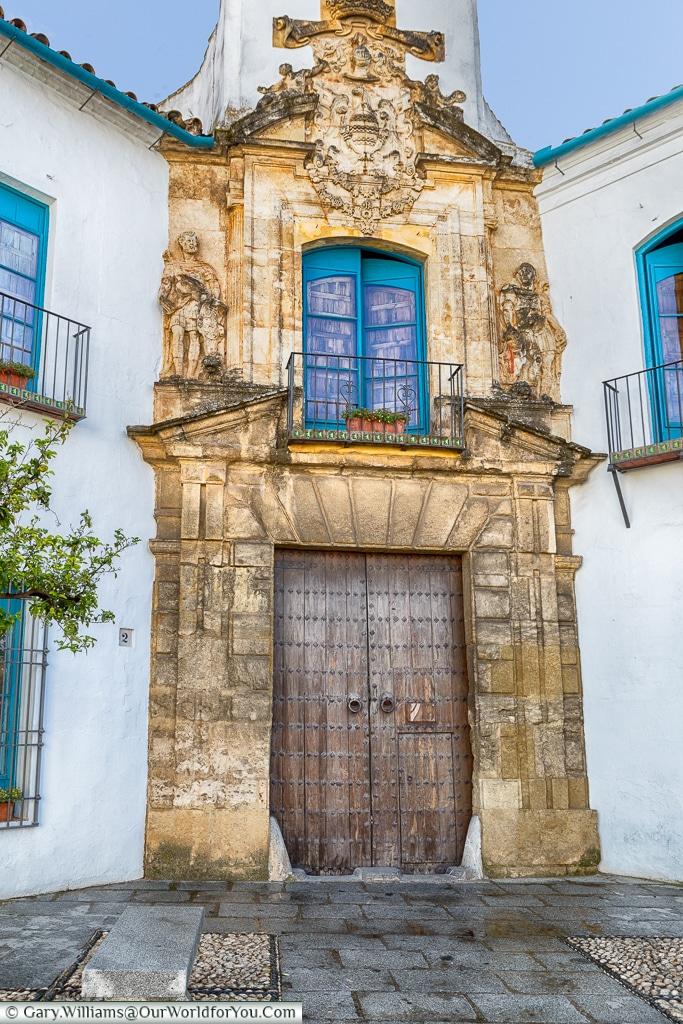 The Renaissance entrance, Palacio de Viana, Córdoba, Spain