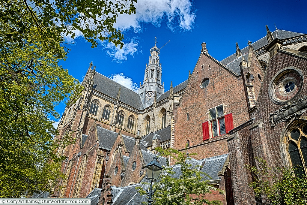 The St. Bavo Church in Haarlem, Holland, Netherlands