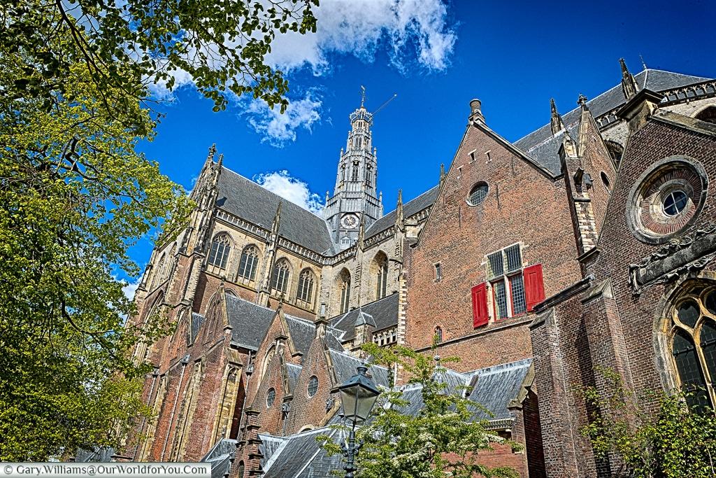 The St. Bavo Church in Haarlem, Holland, Netherlands
