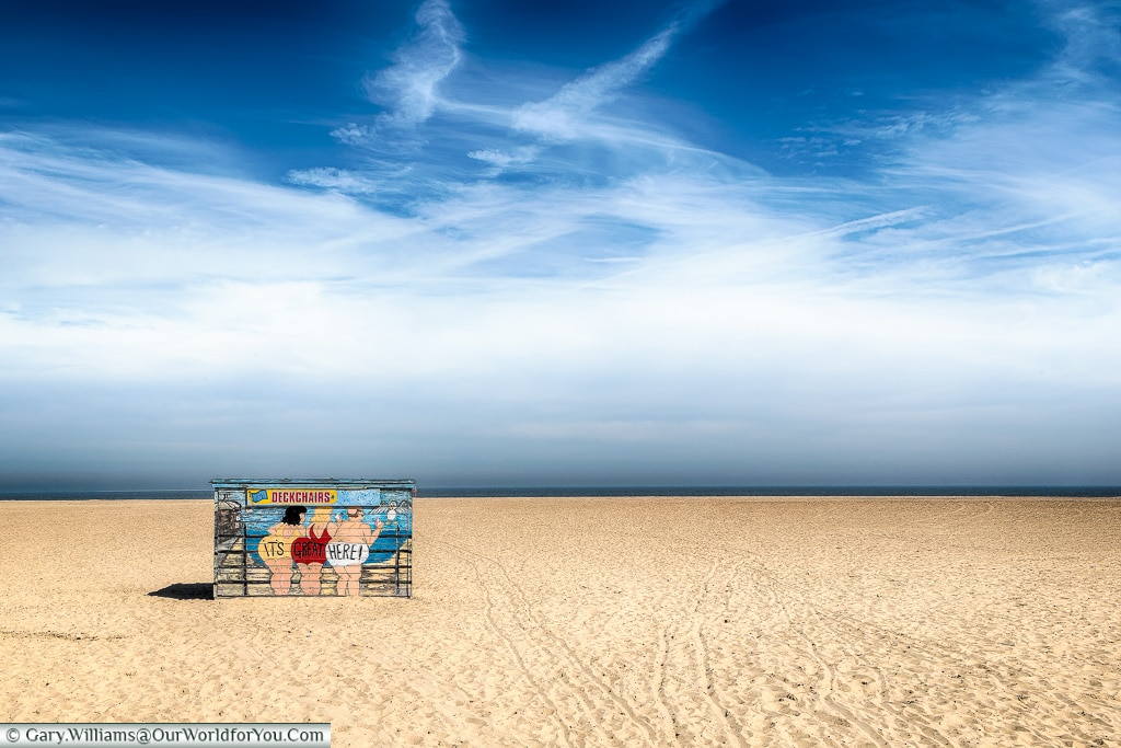 The beach at Great Yarmouth, Norfolk, England, Great Britain