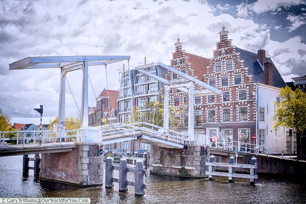 The charming Haarlem, Holland, Netherlands