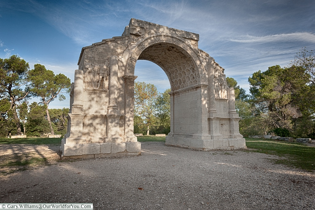 The Triumphal Arch, Glanum, Saint-Rémy-de-Provence, France
