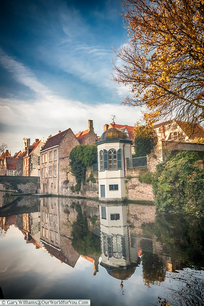 Time for reflection, Bruges, Belgium