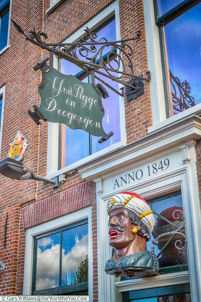 Van der Pigge - a chemist shop, Haarlem, Holland, Netherlands
