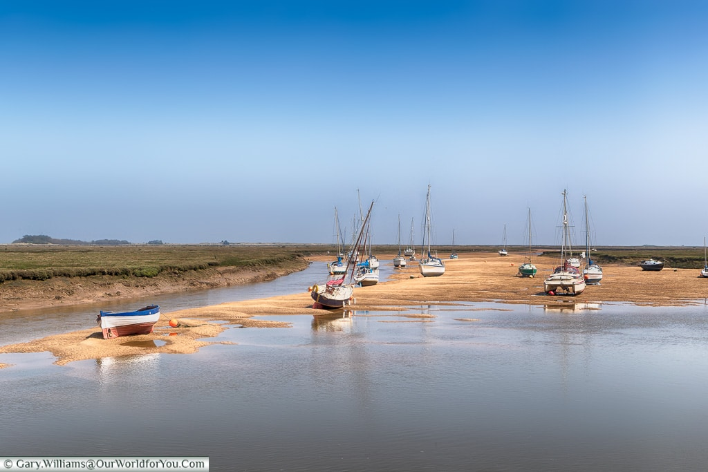 Wells-next-the-Sea, Norfolk, England, Great Britain