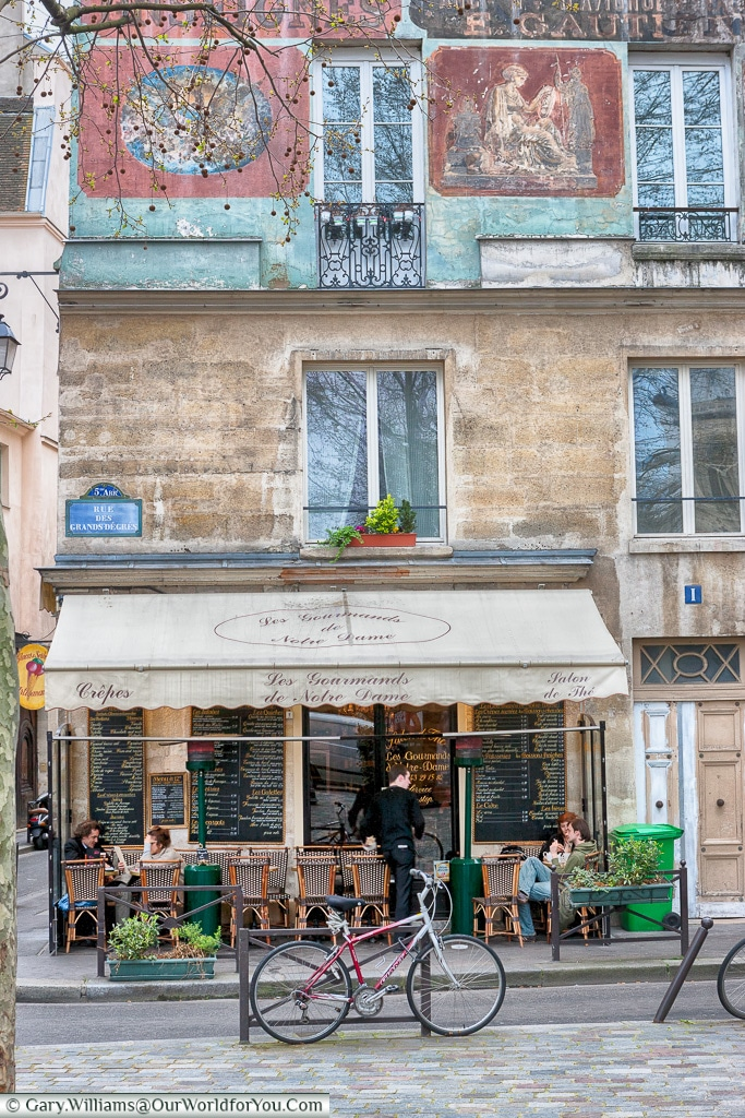 A Parisian Café, Paris, France