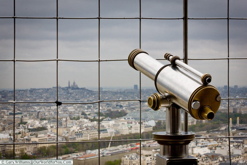 A view over Paris, Paris, France
