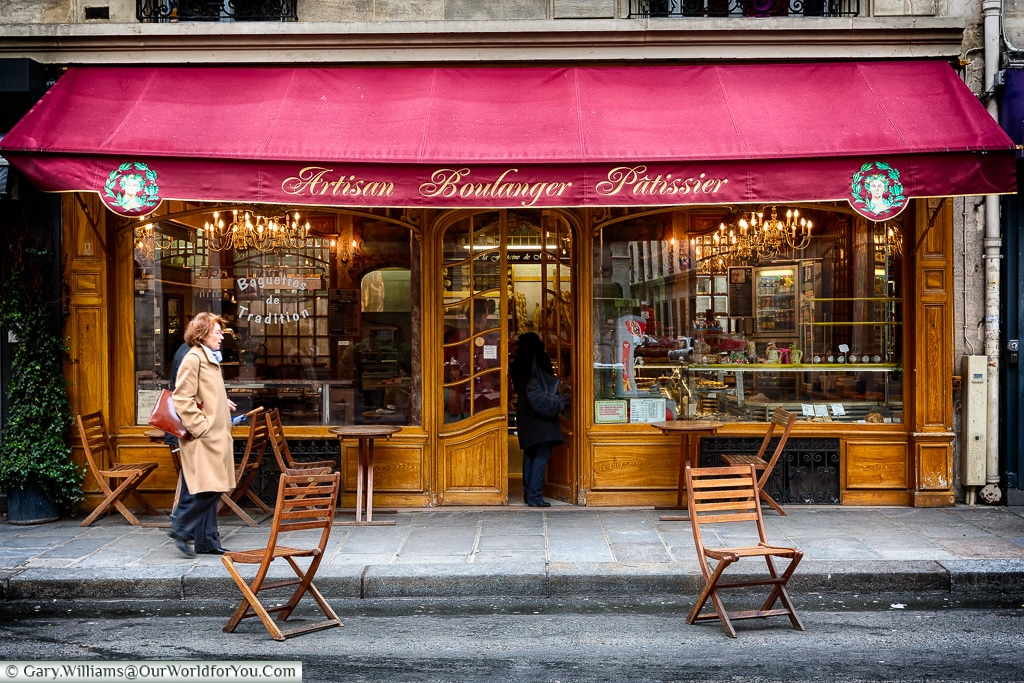Artisan Boulanger Patissier, Paris, France