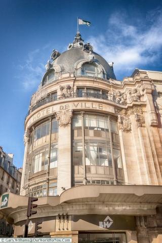 Bazar de L'Hotel de Ville, Paris, France