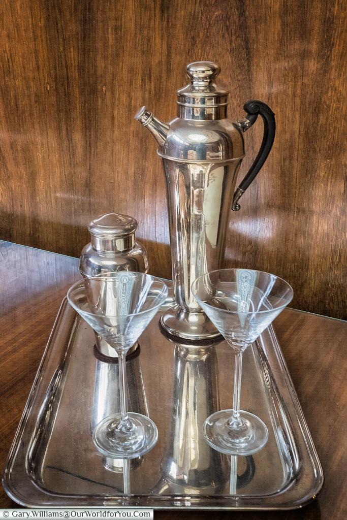Cocktails, Eltham Palace, London, England, UK