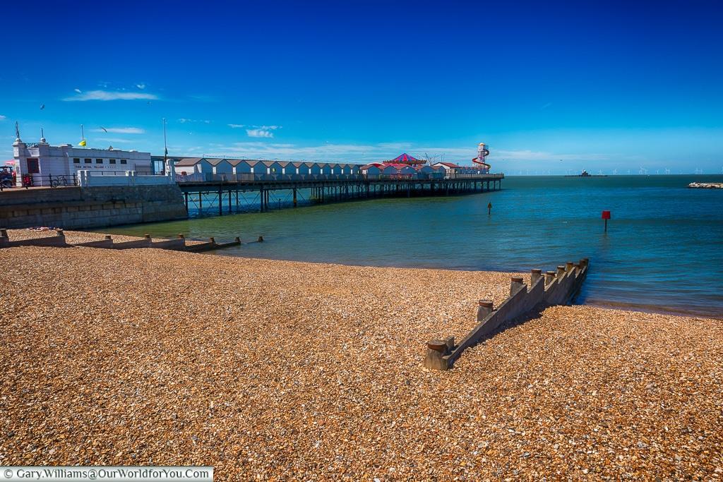 Herne Bay Pier, Kent, England, UK