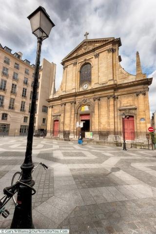 Place des Petits Pères, Paris, France