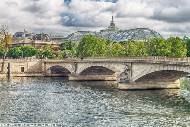 Pont des Invalides, with the Grand Palais in the background, Paris