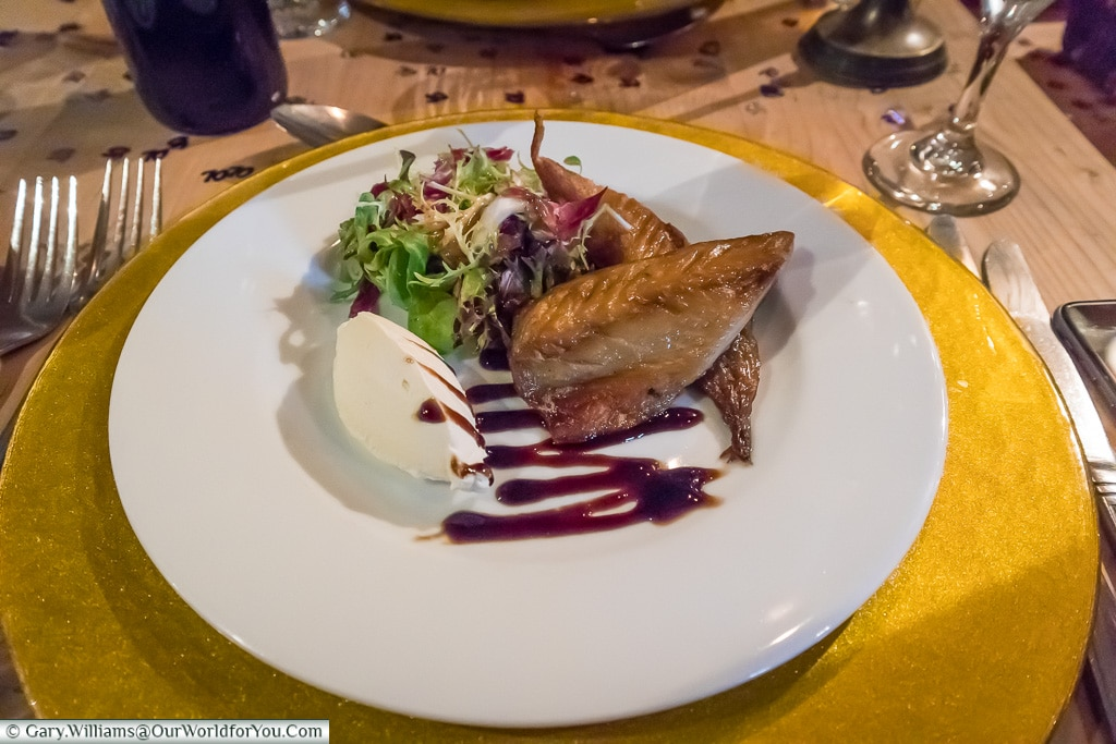 Smoked Mackerel starter,  The Prince of Wales, Hoath