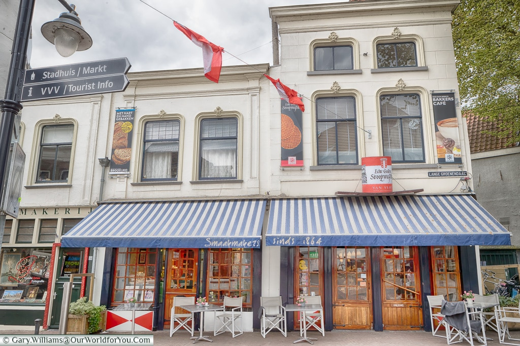 Tearoom Van den Berg, Gouda, Holland, Nethelands