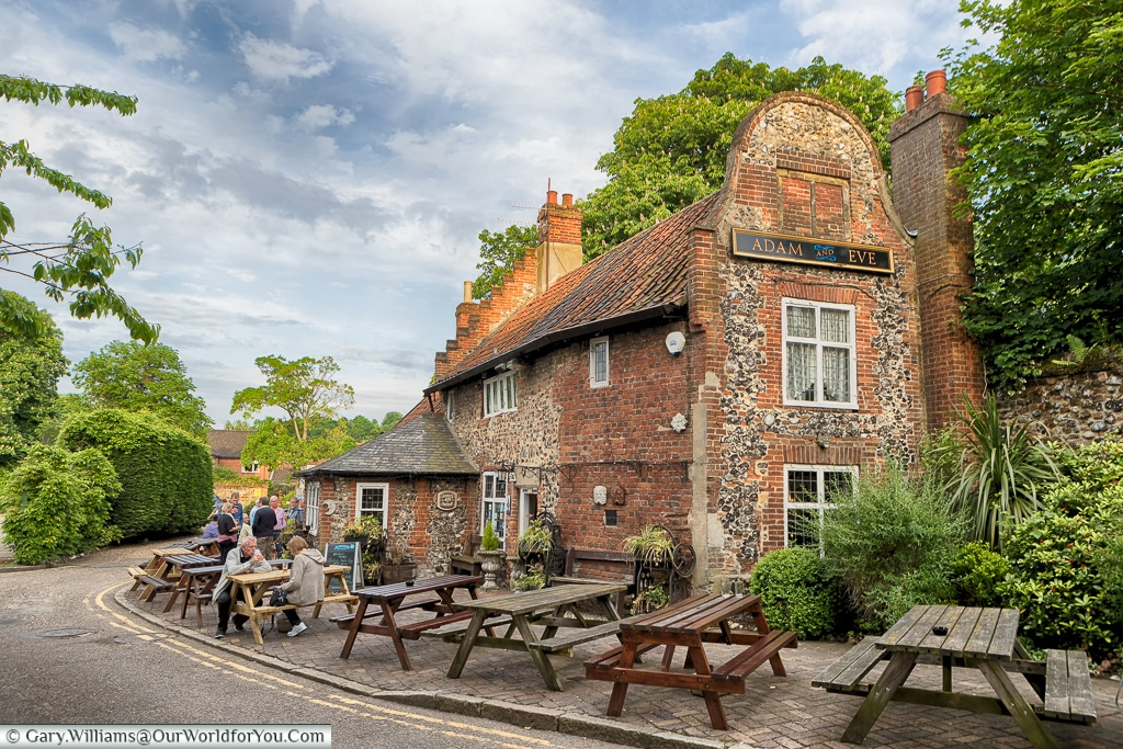 The Adam & Eve Pub, Norwich, Norfolk, England