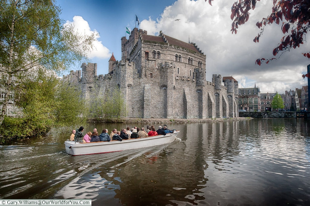 The Castle of the Counts ,Ghent, Belgium