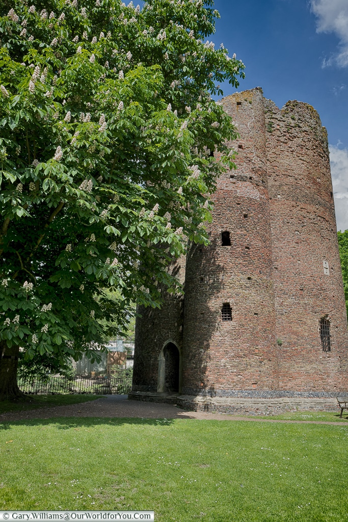 The Cow Tower, Norwich, Norfolk, England