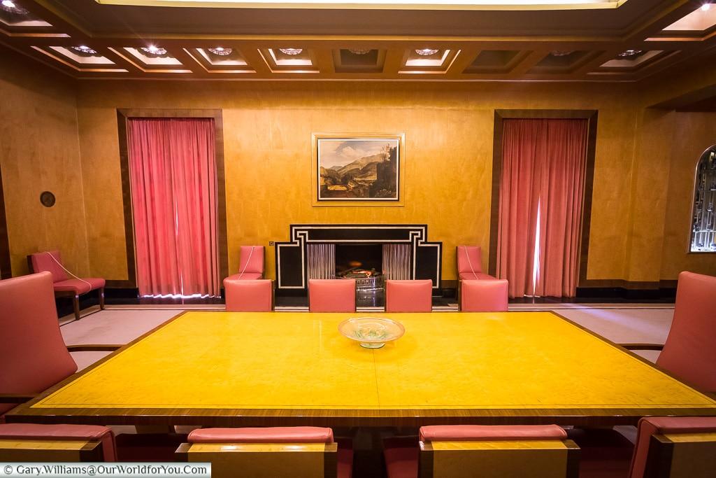 The Dinning Room, Eltham Palace, London, England, UK
