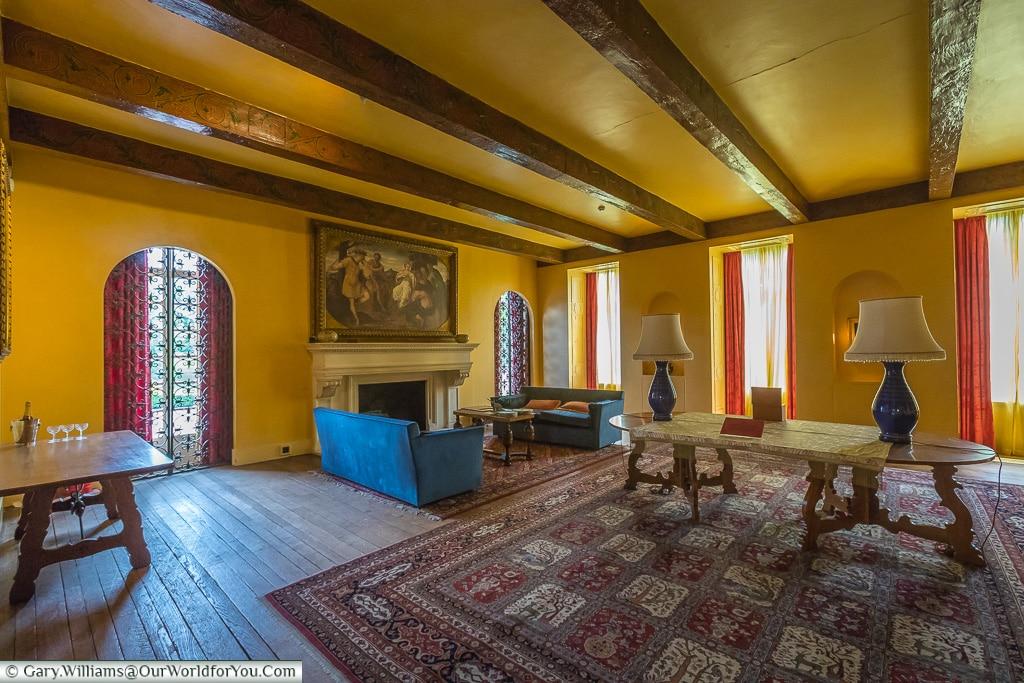 The Drawing Room, Eltham Palace, London, England, UK