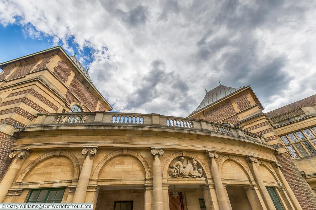 The Grand Entrance, Eltham Palace, London, England, UK