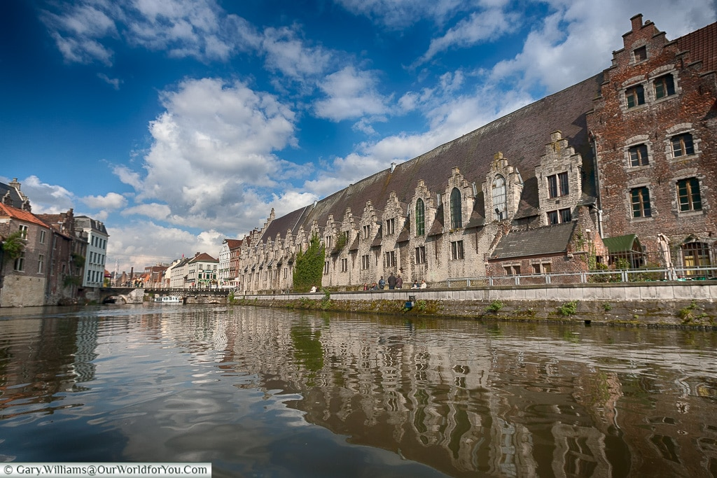 The Great Butchers Hall, Ghent, Belgium