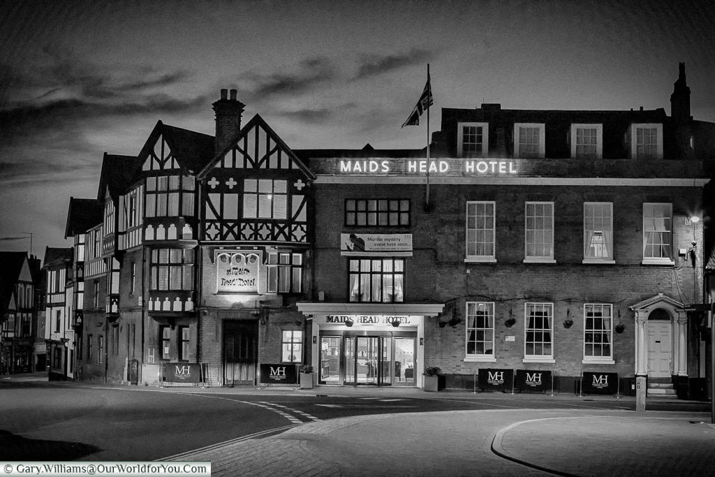 The Maids Head Hotel, Norwich, Norfolk, England