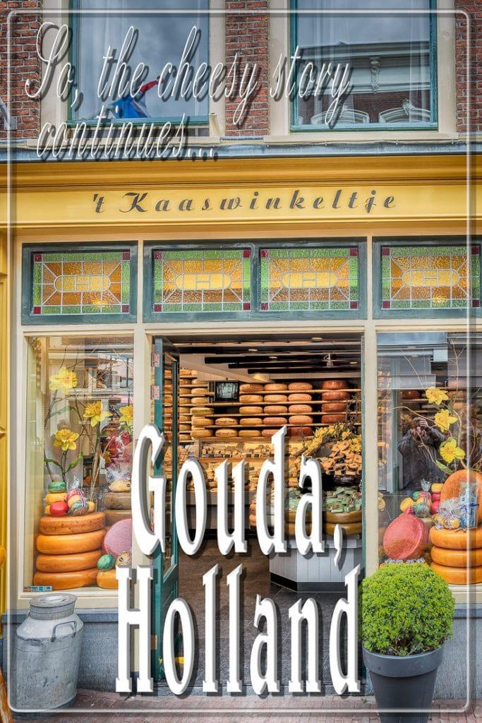 The cheese shop, Gouda, Holland, Nethelands