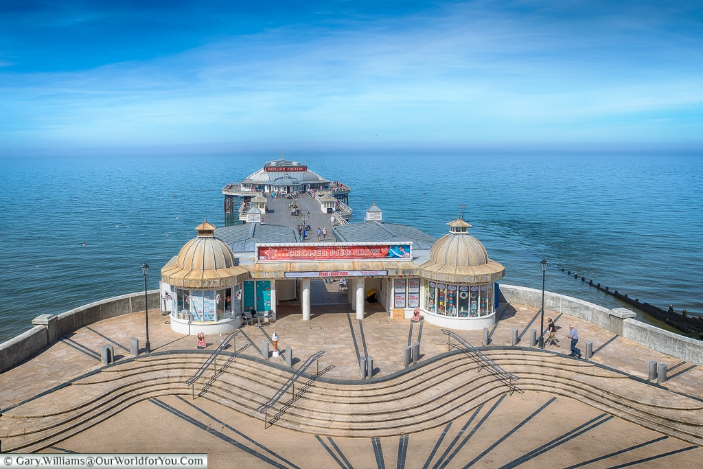 Cromer Pier: The start or end of the North Norfolk Road Trip, Cromer, Norfolk, England, UK