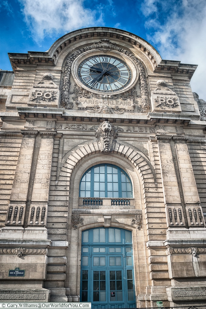 The old Paris-Orleans terminal - now the Museum D'Orsay, Paris,