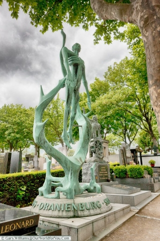 There are some impressive monuments in Père Lachaise Cemetery,