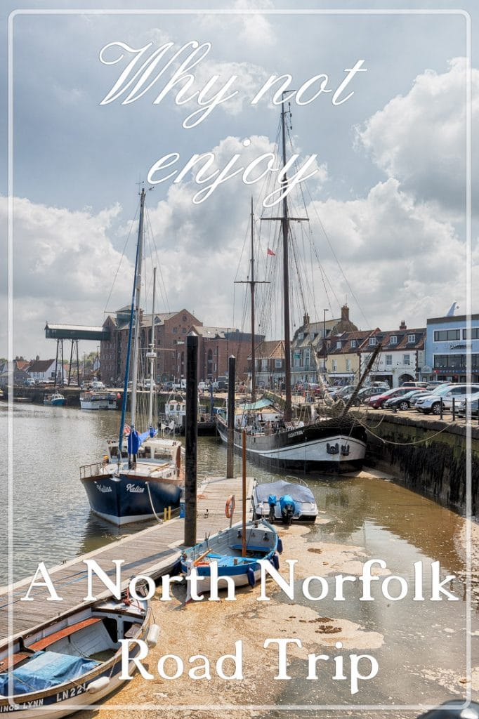 Moored up at Wells-next-the-Sea, North Norfolk Road Trip, England, UK