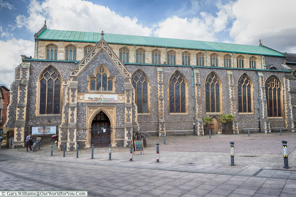 The Halls – St Andrews and Blackfriars, Norwich, Norfolk, England