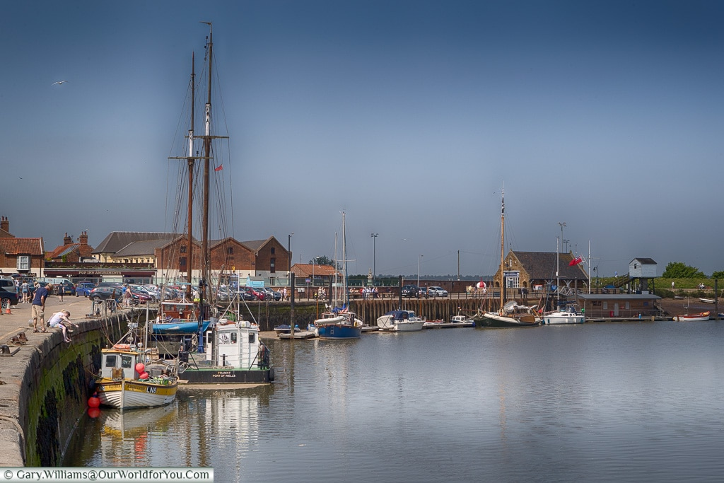 The Quay at Wells-next-the-Sea, North Norfolk Road Trip, England, UK