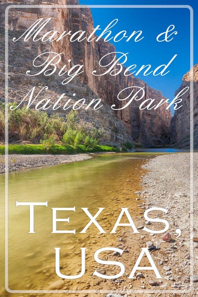 The Rio Grande gorge, Big Bend NP, Texas, USA