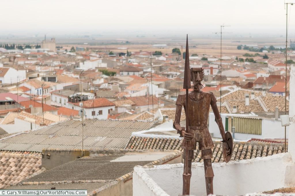 Don Quixote, Campo de Criptana, Spain