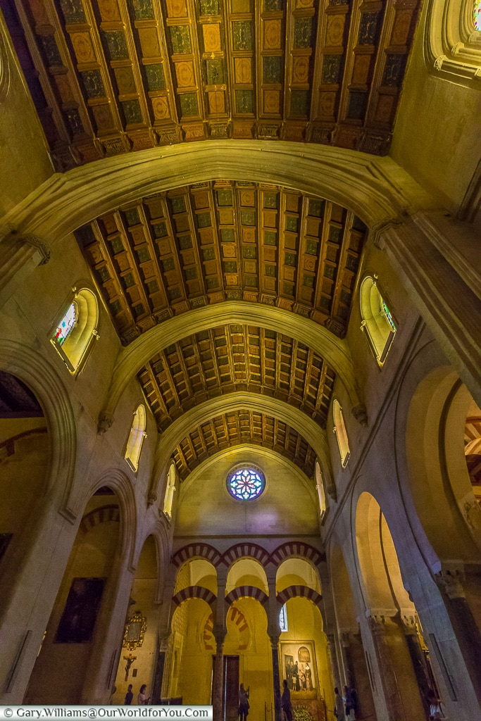 Dont forget to look up too, Mezquita – Mosque–Cathedral, Córdoba, Spain