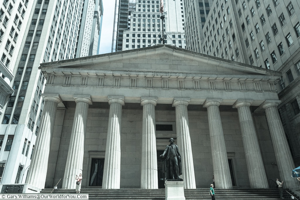 Federal Hall, Manhattan, New York, USA