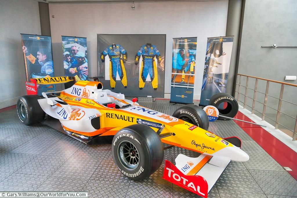 Fernado's F1 Renault, Salamanca, Spain