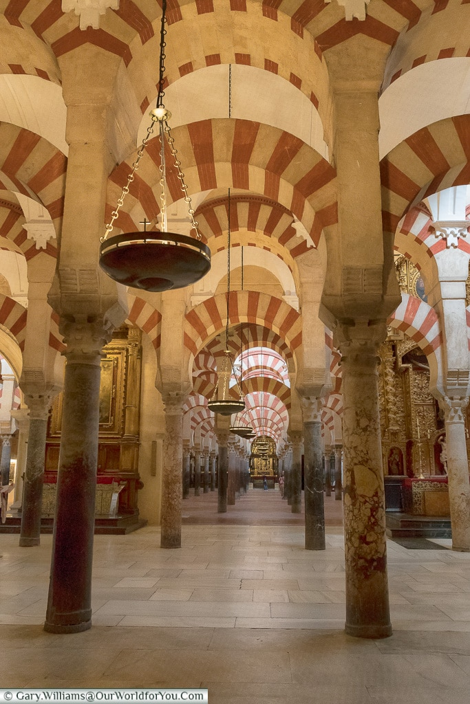 Like a hall of mirrors, Mezquita – Mosque–Cathedral, Córdoba, Spain