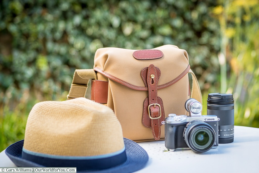 Ready to travel, Billingham Hadley Digital, Billingham Bags
