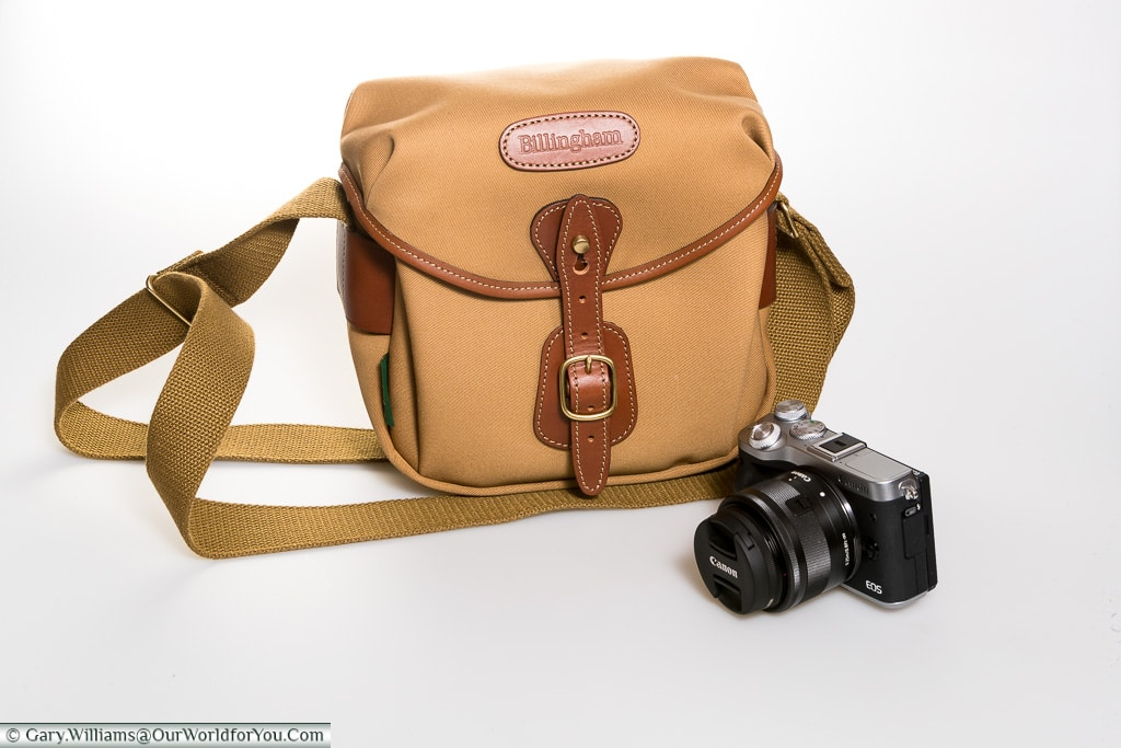 The Canon EOS M6 and Billingham Hadley Digital, Billingham Bags