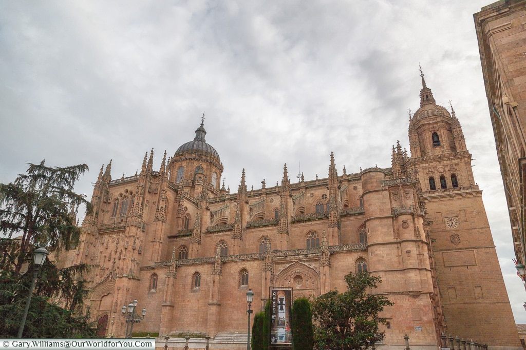 The Cathedrals from the north side, Salamanca, Spain