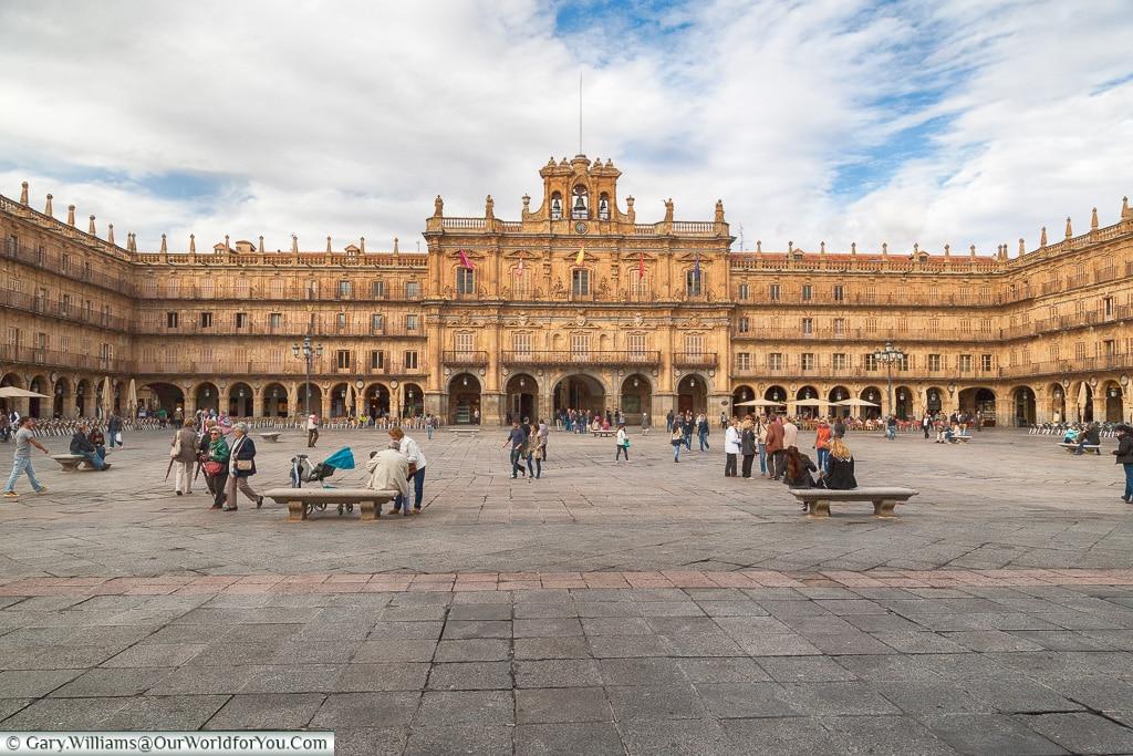 The Plaza Mayor, Salamanca, Spain