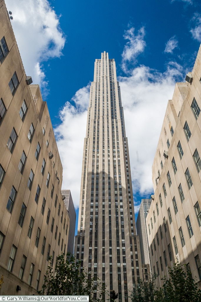 The Rockefeller Centre, Manhattan, New York, USA