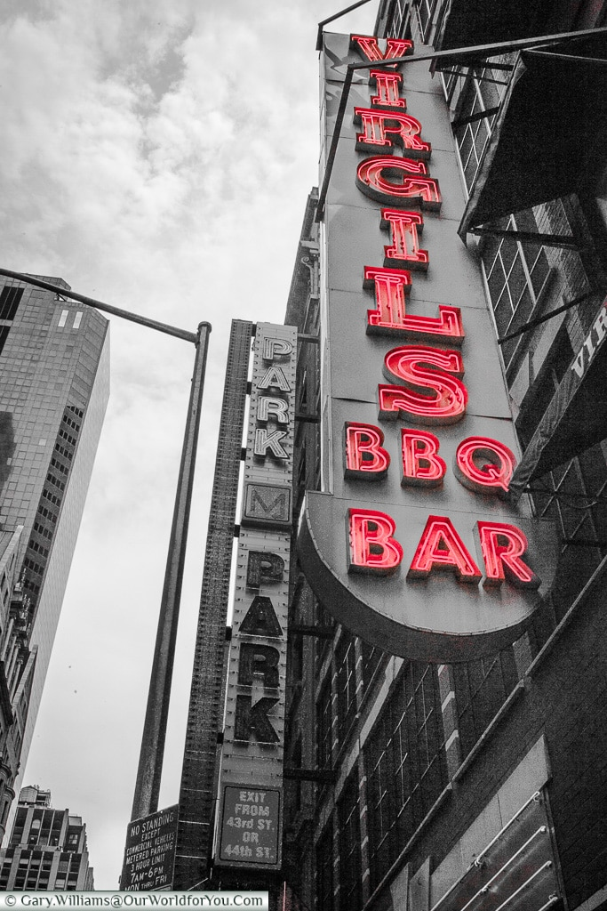 Virgils BBQ, Manhattan, New York, USA