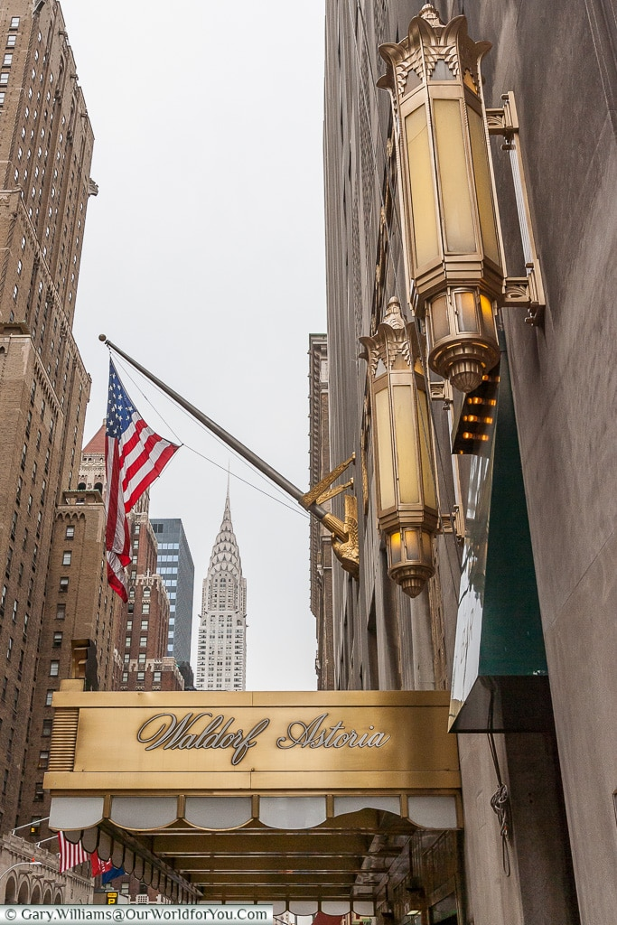 Waldorf Astoria - Lexington Ave , Manhattan, New York, USA