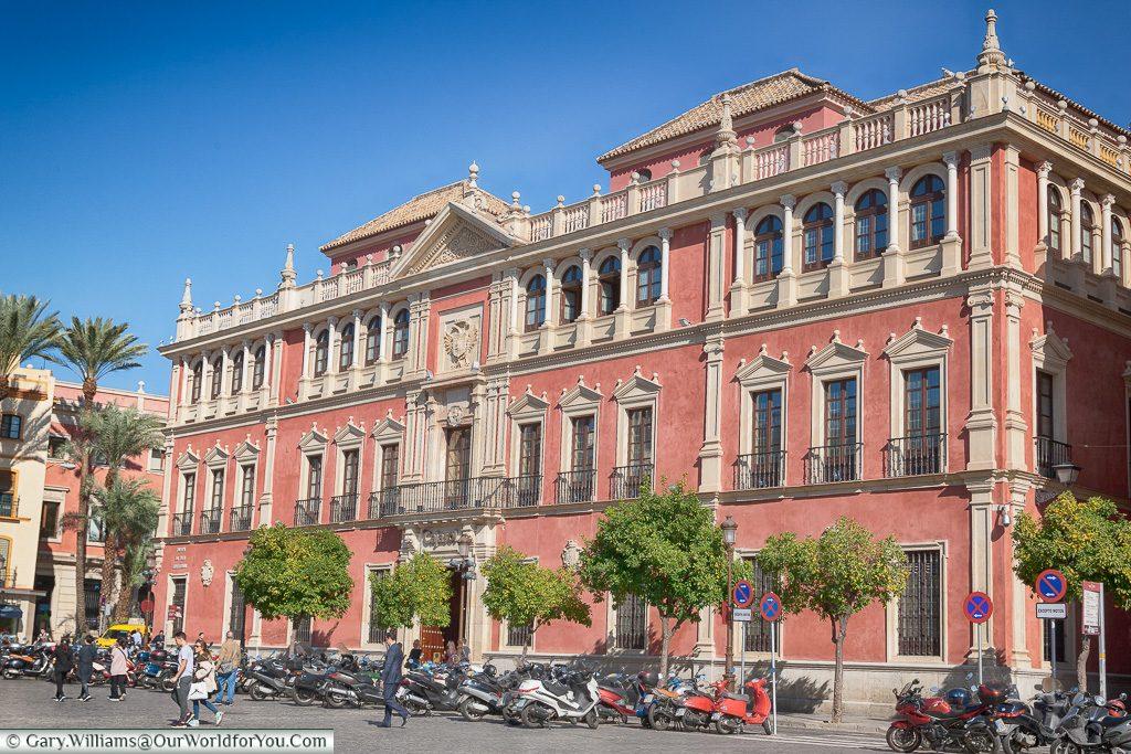 Cajasol Foundation, Plaza de San Francisco, Seville, Andalusia, Spain